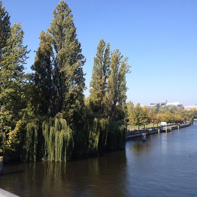 Wunderschöne blaue Donau.